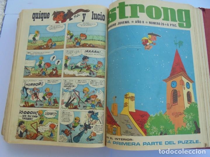 Cómics: STRONG. SEMINARIO JUVENIL. NUMERO 1 AL 30.EDICIONES ARGOS JUVENIL 1969. VER FOTOGRAFIAS ADJUNTAS - Foto 46 - 205025410