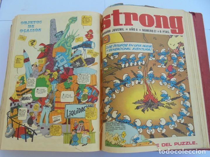 Cómics: STRONG. SEMINARIO JUVENIL. NUMERO 1 AL 30.EDICIONES ARGOS JUVENIL 1969. VER FOTOGRAFIAS ADJUNTAS - Foto 47 - 205025410