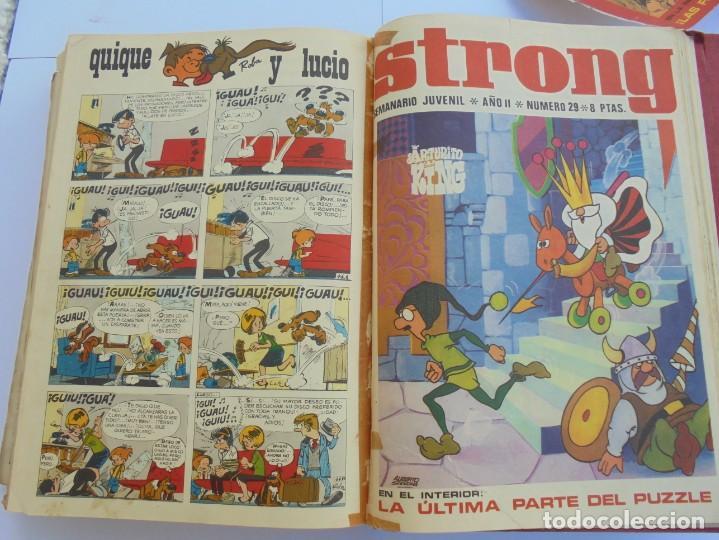 Cómics: STRONG. SEMINARIO JUVENIL. NUMERO 1 AL 30.EDICIONES ARGOS JUVENIL 1969. VER FOTOGRAFIAS ADJUNTAS - Foto 50 - 205025410