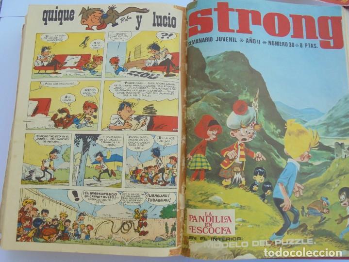 Cómics: STRONG. SEMINARIO JUVENIL. NUMERO 1 AL 30.EDICIONES ARGOS JUVENIL 1969. VER FOTOGRAFIAS ADJUNTAS - Foto 51 - 205025410