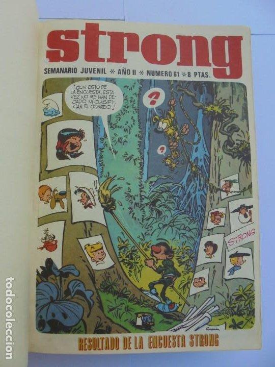 Cómics: STRONG III. SEMINARIO JUVENIL. NUMERO 61 AL 90.EDICIONES ARGOS JUVENIL 1969. VER FOTOGRAFIAS - Foto 7 - 205044007