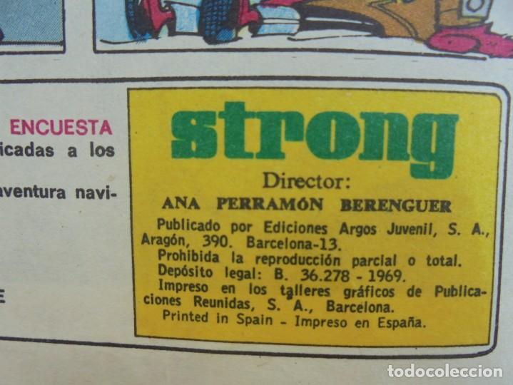 Cómics: STRONG III. SEMINARIO JUVENIL. NUMERO 61 AL 90.EDICIONES ARGOS JUVENIL 1969. VER FOTOGRAFIAS - Foto 9 - 205044007