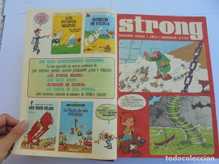 Cómics: STRONG III. SEMINARIO JUVENIL. NUMERO 61 AL 90.EDICIONES ARGOS JUVENIL 1969. VER FOTOGRAFIAS - Foto 13 - 205044007