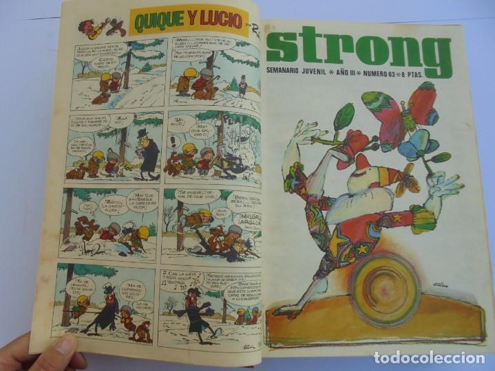 Cómics: STRONG III. SEMINARIO JUVENIL. NUMERO 61 AL 90.EDICIONES ARGOS JUVENIL 1969. VER FOTOGRAFIAS - Foto 15 - 205044007