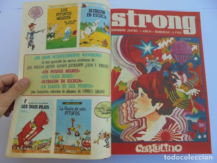 Cómics: STRONG III. SEMINARIO JUVENIL. NUMERO 61 AL 90.EDICIONES ARGOS JUVENIL 1969. VER FOTOGRAFIAS - Foto 17 - 205044007
