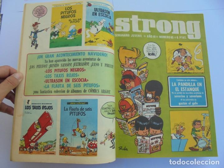 Cómics: STRONG III. SEMINARIO JUVENIL. NUMERO 61 AL 90.EDICIONES ARGOS JUVENIL 1969. VER FOTOGRAFIAS - Foto 18 - 205044007