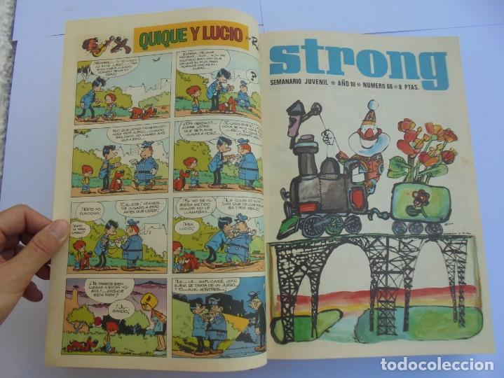 Cómics: STRONG III. SEMINARIO JUVENIL. NUMERO 61 AL 90.EDICIONES ARGOS JUVENIL 1969. VER FOTOGRAFIAS - Foto 20 - 205044007