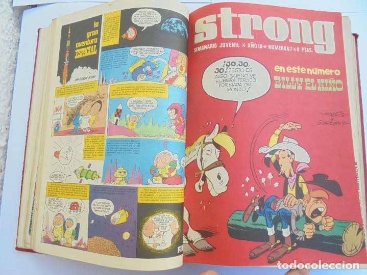 Cómics: STRONG III. SEMINARIO JUVENIL. NUMERO 61 AL 90.EDICIONES ARGOS JUVENIL 1969. VER FOTOGRAFIAS - Foto 23 - 205044007