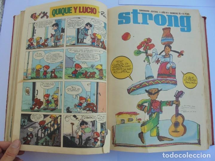 Cómics: STRONG III. SEMINARIO JUVENIL. NUMERO 61 AL 90.EDICIONES ARGOS JUVENIL 1969. VER FOTOGRAFIAS - Foto 28 - 205044007