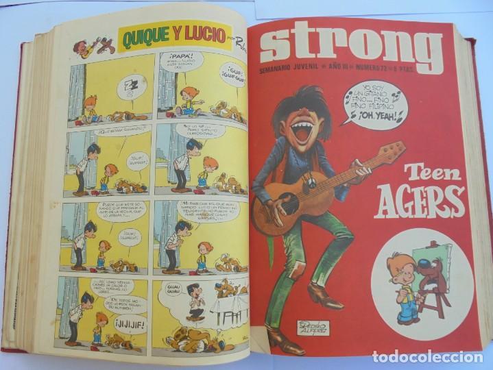 Cómics: STRONG III. SEMINARIO JUVENIL. NUMERO 61 AL 90.EDICIONES ARGOS JUVENIL 1969. VER FOTOGRAFIAS - Foto 31 - 205044007