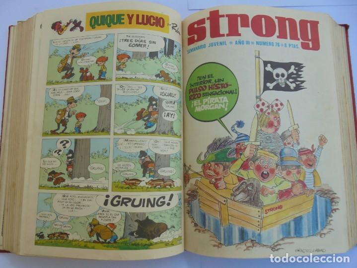 Cómics: STRONG III. SEMINARIO JUVENIL. NUMERO 61 AL 90.EDICIONES ARGOS JUVENIL 1969. VER FOTOGRAFIAS - Foto 36 - 205044007