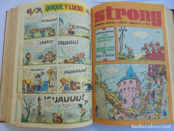 Cómics: STRONG III. SEMINARIO JUVENIL. NUMERO 61 AL 90.EDICIONES ARGOS JUVENIL 1969. VER FOTOGRAFIAS - Foto 37 - 205044007