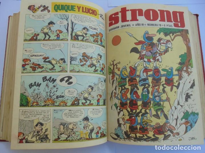 Cómics: STRONG III. SEMINARIO JUVENIL. NUMERO 61 AL 90.EDICIONES ARGOS JUVENIL 1969. VER FOTOGRAFIAS - Foto 38 - 205044007
