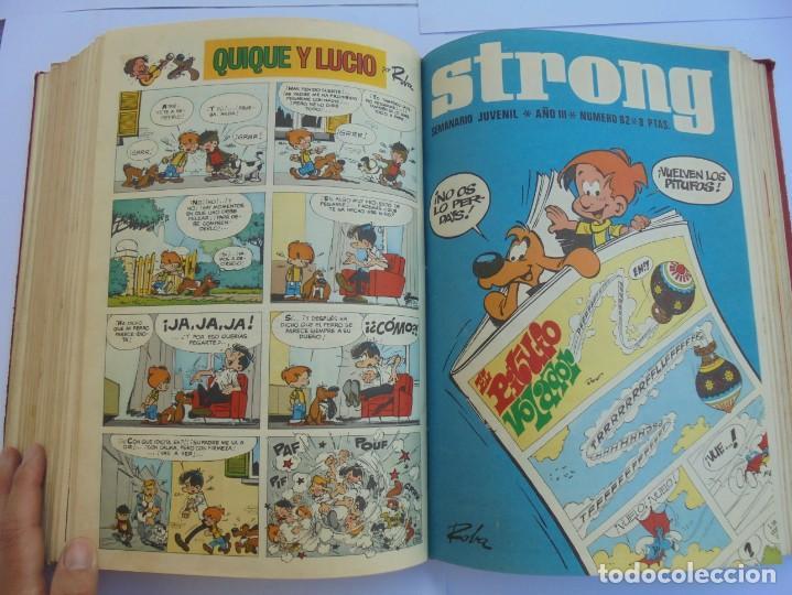 Cómics: STRONG III. SEMINARIO JUVENIL. NUMERO 61 AL 90.EDICIONES ARGOS JUVENIL 1969. VER FOTOGRAFIAS - Foto 42 - 205044007