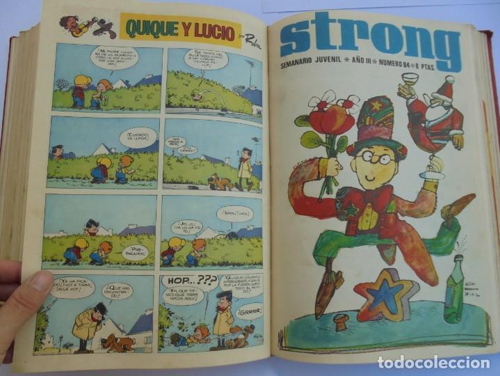 Cómics: STRONG III. SEMINARIO JUVENIL. NUMERO 61 AL 90.EDICIONES ARGOS JUVENIL 1969. VER FOTOGRAFIAS - Foto 45 - 205044007
