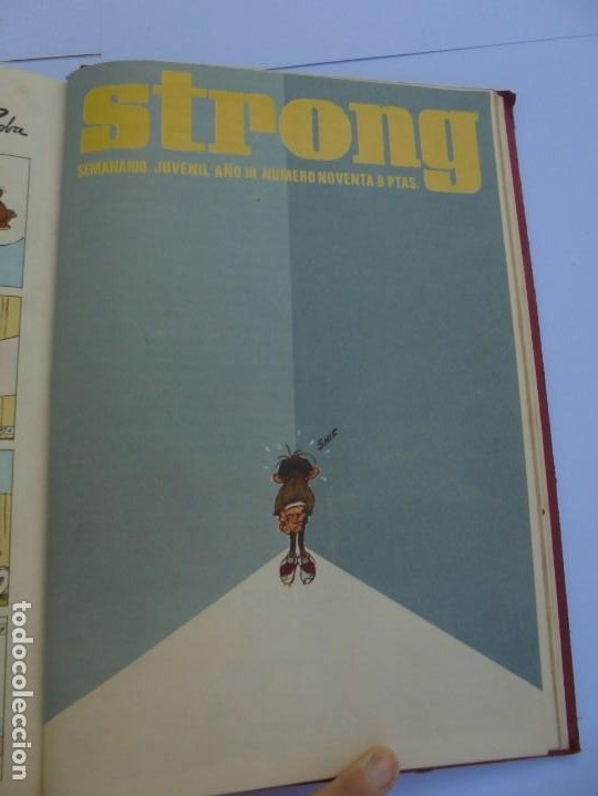 Cómics: STRONG III. SEMINARIO JUVENIL. NUMERO 61 AL 90.EDICIONES ARGOS JUVENIL 1969. VER FOTOGRAFIAS - Foto 53 - 205044007