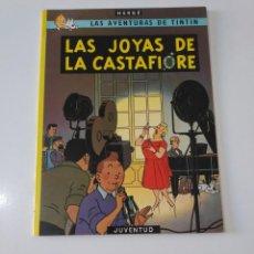 Cómics: TINTÍN LAS JOYAS DE LA CATASTIFIORE TAPA BLANDA EDITORIAL JUVENTUD 1989 12 EDICIÓN. Lote 205316790