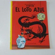 Cómics: TINTÍN EL LOTO AZUL TAPA BLANDA EDITORIAL JUVENTUD 1988 11 EDICIÓN. Lote 205317648
