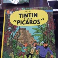 Cómics: TINTIN Y LOS PICAROS - CIRCULO DE LECTORES HERGE JUVENTUD TAPA DURA. -MUY BIUENO 1985. Lote 220937948
