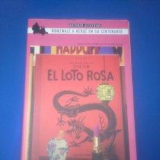 Fumetti: LAS AVENTURAS DE TINTÍN, EL LOTO ROSA, EDICIÓN DE SÓLO 1500 UNIDADES, NUEVO. Lote 205390925