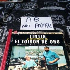 Cómics: TINTIN CINE Y EL MISTERIO DE EL TOISON DE ORO PRIMERA EDICIÓN JUVENTUD VER FOTOS ESTADO. Lote 205444686