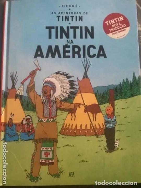CÓMIC TEBEO TINTÍN NA AMERICA TINTÍN EN AMERICA EDICIÓN PORTUGUESA ASA (Tebeos y Comics - Juventud - Tintín)