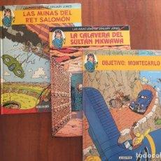 Cómics: LAS AVENTURAS DE JANUARY JONES. Lote 206216971
