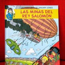 Cómics: LAS AVENTURAS DE JANUARY JONES 3 LAS MINAS DEL REY SALOMÓN.ERIC HEUVEL1A EDICIÓN.DIFÍCIL.JUVENTUD. Lote 206233045