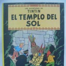 Cómics: LAS AVENTURAS DE TINTIN, DE HERGE : EL TEMPLO DEL SOL. JUVENTUD, 1993. Lote 206299106