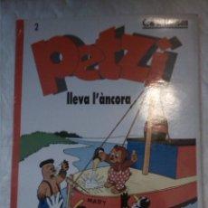Cómics: PETZI LLEVA L'ÀNCORA. C & V HANSEN. JOVENTUT. 1985. TEXTOS EN CATALÀ.. Lote 206409711