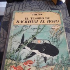 Fumetti: TINTÍN. EL TESORO DE RACKHAM EL ROJO. EDICION DE 1971.. Lote 206447027