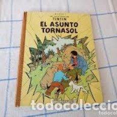 Cómics: LAS AVENTURAS DE TINTIN EL ASUNTO TORNASOL, DE HERGE 3ªEDICION 1968,DEPOSITO LEGAL B 33890-1968. Lote 206507618