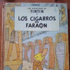 Cómics: HERGE - TINTIN - LOS CIGARROS DEL FARAON - JUVENTUD 1964 1ª EDICIÓN. Lote 206515163