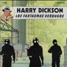Cómics: HARRY DICKSON. LOS FANTASMAS VERDUGOS. DIBUJOS PASCAL ZANON. GUIÓN CH. VANDERHAEGHE. CÓMIC.. Lote 207302011