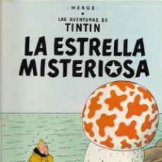 Cómics: TINTÍN. LA ESTRELLA MISTERIOSA. JUVENTUD. EDICIÓN DE 1982.. Lote 207676503