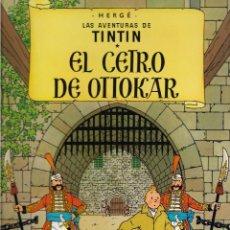 Cómics: TINTÍN. EL CETRO DE OTTOKAR. JUVENTUD. EDICIÓN DE 1985.. Lote 207676507
