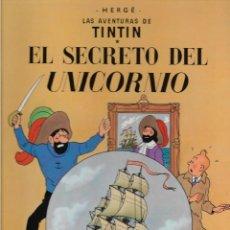 Cómics: TINTÍN. EL SECRETO DEL UNICORNIO. JUVENTUD. EDICIÓN DE 1985.. Lote 207676528