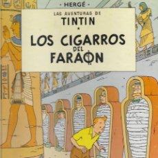 Cómics: TINTÍN. LOS CIGARROS DEL FARAON. JUVENTUD. EDICIÓN DE 1988.. Lote 207676531