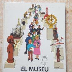 Cómics: EL MUSEU IMAGINARI DE TINTÍN 1985 EDITORIAL JOVENTUT. Lote 207791355