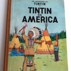 Cómics: TINTIN EN AMERICA - JUVENTUD 1A. EDICIÓN - 1968. Lote 207846162