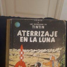 Cómics: ATERRIZAJE EN LA LUNA LAS AVENTURAS DE TINTÍN HERGE JUVENTUD 1965 TAPAS ANTIGUAS. Lote 208144543