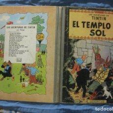 Cómics: LAS AVENTURAS DE TINTIN. EL TEMPLO DEL SOL. HERGE. EDITORIAL JUVENTUD 2ª EDICION 1961.. Lote 208822845
