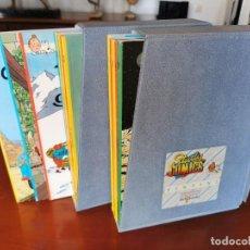 Cómics: TINTIN, 22 TOMOS, COMPLETA, EDICIONES DEL PRADO 1984, EN FRANCÉS,EN ESTADO IMPECABLE, MUY DIFICIL!!. Lote 208972166