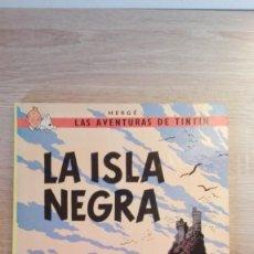 Cómics: LA ISLA NEGRA-TINTÍN-ED.JUVENTUD-AÑO 1986-10ª EDICIÓN-CARTONÉ-COMPLETO.. Lote 209073221