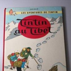 Cómics: TINTIN AU TIBET CASTERMAN HERGÉ EN FRANCÉS 1980 ENVÍO CERTIFICADO 7,99. Lote 209571220