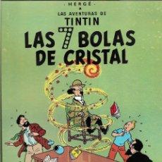 Cómics: TINTÍN. LAS 7 BOLAS DE CRISTAL. JUVENTUD. EDICIÓN DE 1986.. Lote 209617560
