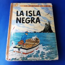 Cómics: TINTÍN LA ISLA NEGRA 2ª EDICIÓN 3ª 1967. Lote 209712430