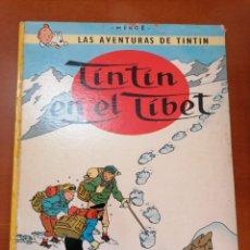 Cómics: TINTIN EN EL TIBET * AVENTURAS DE TINTIN ** HERGE * JOVENTUD * 7 º ED. 1980 *. Lote 209845076