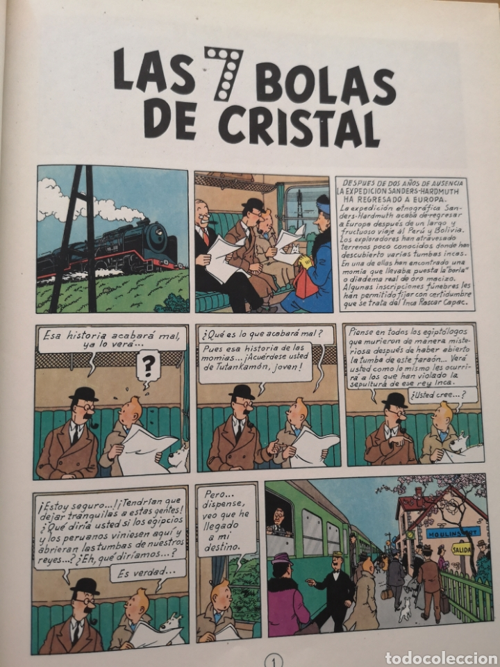 Cómics: TINTIN - LAS 7 BOLAS DE CRISTAL - Foto 4 - 209903947