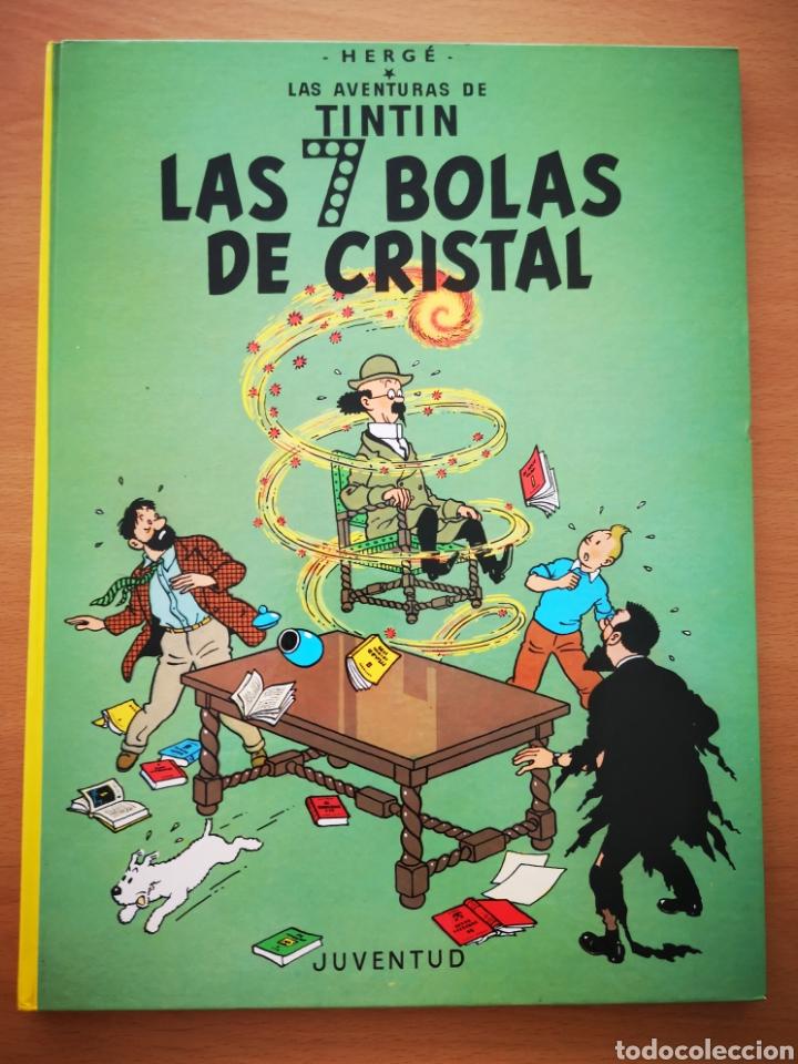 TINTIN - LAS 7 BOLAS DE CRISTAL (Tebeos y Comics - Juventud - Tintín)